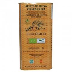 Aceite de Oliva Virgen Extra Ecologico Lata 5 Litros